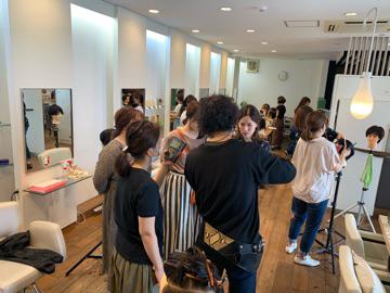 アツコの美容室  レイヤーカット 講習